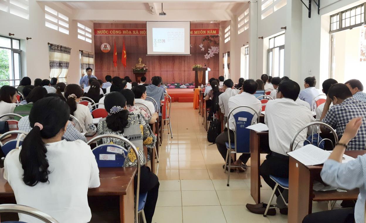 Khai giảng lớp Bồi dưỡng nghiệp vụ cộng tác viên thanh tra giáo dục năm 2021