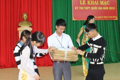 Kỳ thi tốt nghiệp THPT quốc gia 2015: Ngày đầu tiên diễn ra an toàn, nghiêm túc