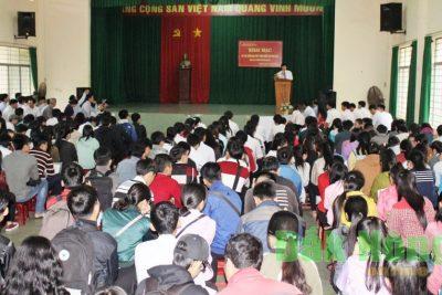 Trên 6.000 thí sinh tỉnh Đắk Nông dự thi môn đầu tiên kỳ thi THPT Quốc gia năm 2017