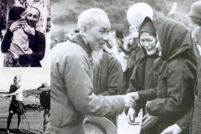 Những hình ảnh giản dị, thân thường của Chủ tịch Hồ Chí Minh