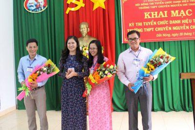 Đắk Nông tổ chức thi tuyển chức danh Hiệu trưởng Trường THPT Chuyên Nguyễn Chí Thanh