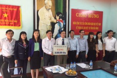 Công đoàn Giáo dục Việt Nam thăm và làm việc với Công đoàn Giáo dục tỉnh Đắk Nông