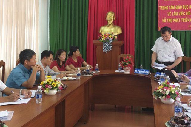 Khảo sát, đánh giá và tư vấn định hướng phát triển Trung tâm Hỗ trợ phát triển giáo dục hòa nhập tỉnh Đắk Nông