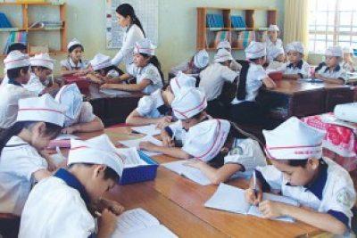 Giáo dục bậc tiểu học từng bước nâng cao chất lượng