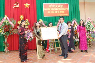Trường Tiểu học Trần Phú (Chư Jút) đạt chuẩn Quốc gia giai đoạn I