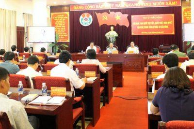 Hội nghị trực tuyến toàn quốc học tập, quán triệt Nghị quyết Hội nghị Trung ương 5, khóa XII của Đảng