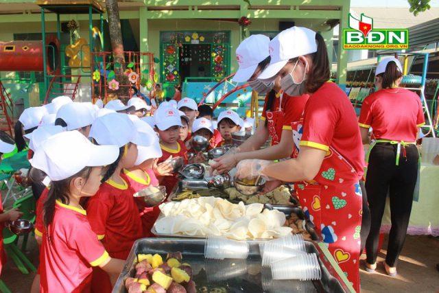 Trường mầm non Họa Mi ở xã Đắk D'rô: Xây dựng môi trường giáo dục lấy trẻ làm trung tâm