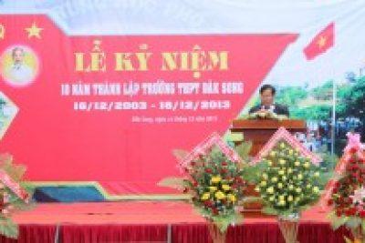 Trường THPT Đăk Song kỷ niệm 10 năm thành lập