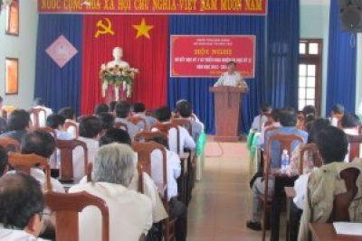 Hội nghị sơ kết học kỳ I và triển khai nhiệm vụ trọng tâm học kỳ II năm học 2013 – 2014.