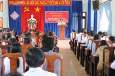 Hội nghị học tập, quán triệt và triển khai thực hiện Nghị quyết số 29 NQ/TW