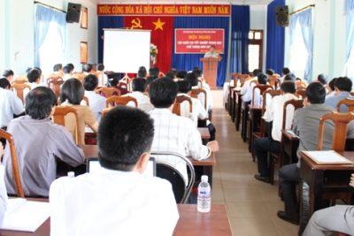 Tập huấn thi tốt nghiệp THPT năm 2014