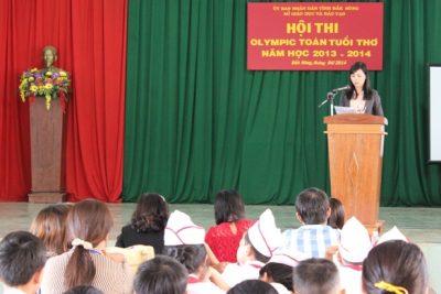 Hội thi Olympic toán tuổi thơ năm học 2013-2014