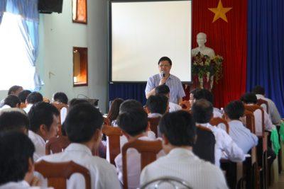 Hội nghị tập huấn công tác thi THPT quốc gia năm 2015