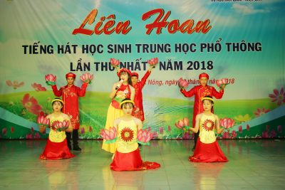 Liên hoan Tiếng hát học sinh trung học phổ thông tỉnh Đắk Nông lần thứ nhất, năm 2018
