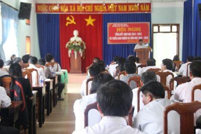 Hội nghị tổng kết năm học 2014-2015 và triển khai nhiệm vụ năm học 2015-2016