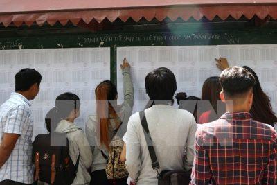 Bộ Giáo dục và Đào tạo chính thức công bố điểm sàn đại học 2017