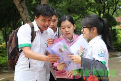 Kỳ thi THPT Quốc gia 2017, Đắk Nông có 9 thí sinh đạt điểm 10