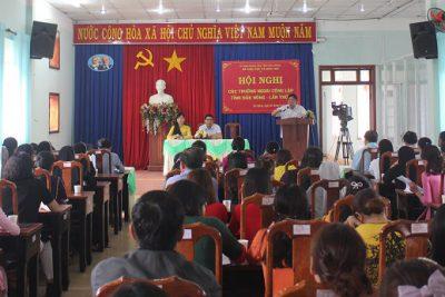 Hội nghị các trường ngoài công lập tỉnh Đắk Nông- Lần thứ 1