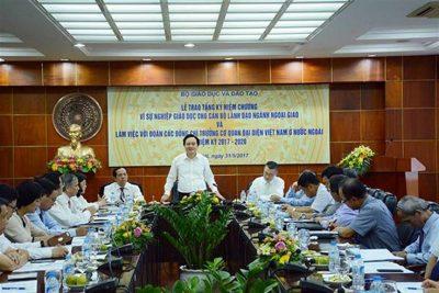 Bộ trưởng Phùng Xuân Nhạ: Mấu chốt của hội nhập quốc tế trong giáo dục đào tạo là hội nhập tư duy giáo dục
