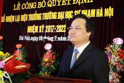 Bộ trưởng Phùng Xuân Nhạ nhìn nhận cơ hội và thách thức của các trường sư phạm hiện nay