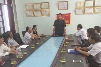 Phó Chủ tịch Thường trực UBND tỉnh Trần Xuân Hải chúc Tết tại Sở Giáo dục và Đào tạo