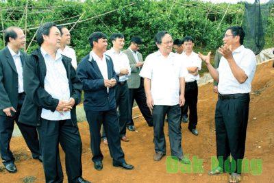 Công tác xây dựng Đảng, hệ thống chính trị được tăng cường