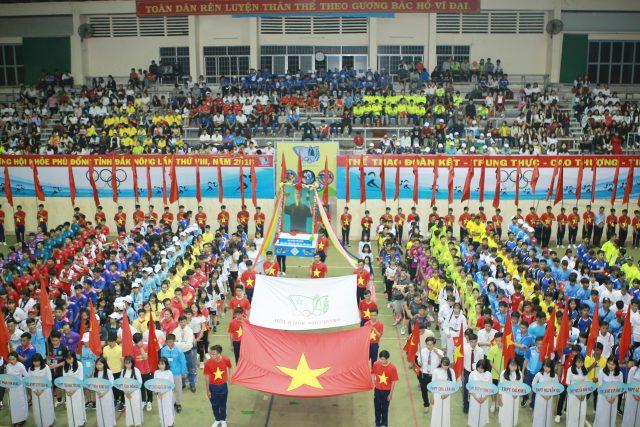 Hội khỏe Phù Đổng tỉnh Đắk Nông lần thứ VIII năm 2018