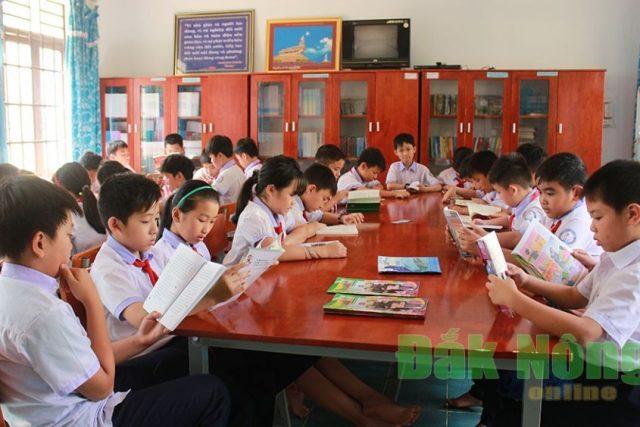 Gia Nghĩa, tổ chức dạy học hai buổi/ngày, giúp học sinh phát triển toàn diện