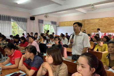 Hội nghị triển khai phần mềm xây dựng thực đơn cân bằng dinh dưỡng thuộc Dự án Bữa ăn học đường tại tỉnh Đắk Nông