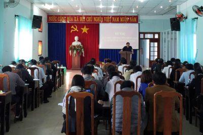 Hội nghị quán triệt, triển khai kết luận của Bộ trưởng Phùng Xuân Nhạ về tiếp tục triển khai việc xây dựng và chuẩn bị các điều kiện để áp dụng CT, SGK GDPT  mới