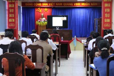 Hội nghị trực tuyến triển khai Chương trình giáo dục phổ thông mới