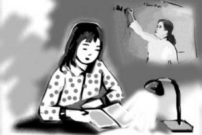 Cô giáo Nguyễn Thị Hoa yêu nghề, thương trò