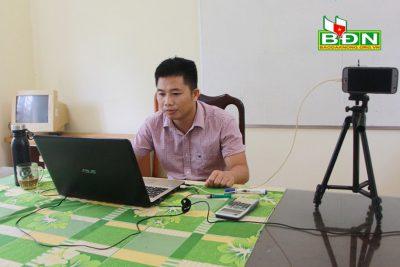 Dạy học online tương đối thuận lợi