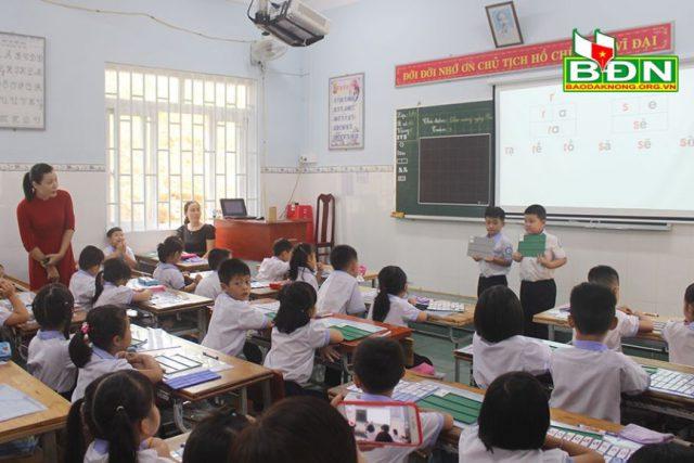Gia Nghĩa, các trường được hỗ trợ thực hiện Chương trình giáo dục phổ thông mới đối với lớp 1