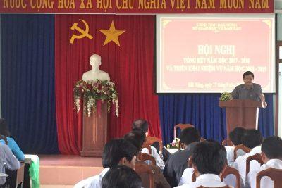 Sở GDĐT tỉnh Đắk Nông tổ chức Hội nghị tổng kết năm học 2017-2018 và triển khai nhiệm vụ năm học 2018-2019