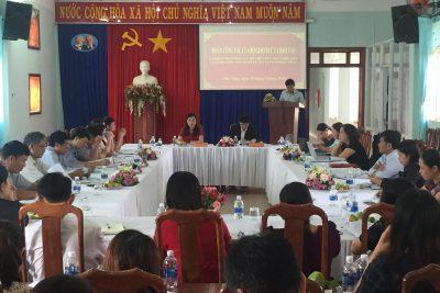 Bộ Giáo dục và Đào tạo kiểm tra, giám sát, hỗ trợ việc thực hiện nhiệm vụ đối với giáo dục học sinh khuyết tật tại tỉnh Đắk Nông