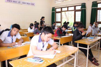 Ngày thi thứ hai kỳ thi tốt nghiệp THPT năm 2014: Khoảng 3000 thí sinh đã hoàn thành 4 môn thi