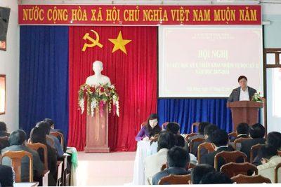 Sở Giáo dục và Đào tạo tỉnh Đắk Nông triển khai nhiệm vụ học kỳ II năm học 2017 -2018