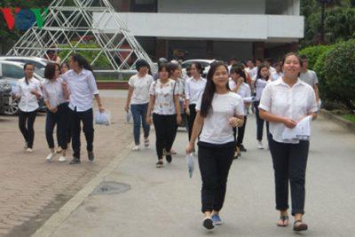 Lưu ý thí sinh tự do đăng ký thi tốt nghiệp THPT và xét tuyển đại học
