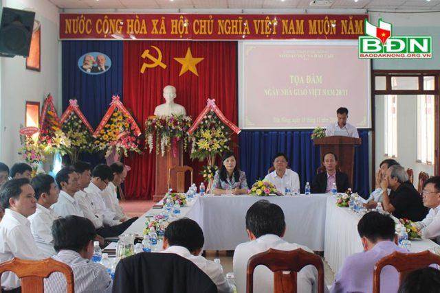 Tọa đàm kỷ niệm Ngày Nhà giáo Việt Nam 20/11
