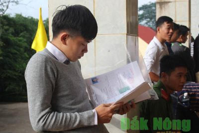 Toàn tỉnh có 2.832 thí sinh đăng ký dự thi tổ hợp bài thi khoa học tự nhiên